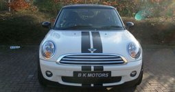 BMW Mini Cooper 1.6 2010 Pepper White