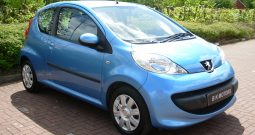 PEUGEOT 107 URBAN MOVE 68 BHP 3 DOOR BLUE MANUAL