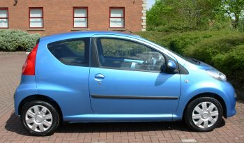 PEUGEOT 107 URBAN MOVE 68 BHP 3 DOOR BLUE MANUAL full