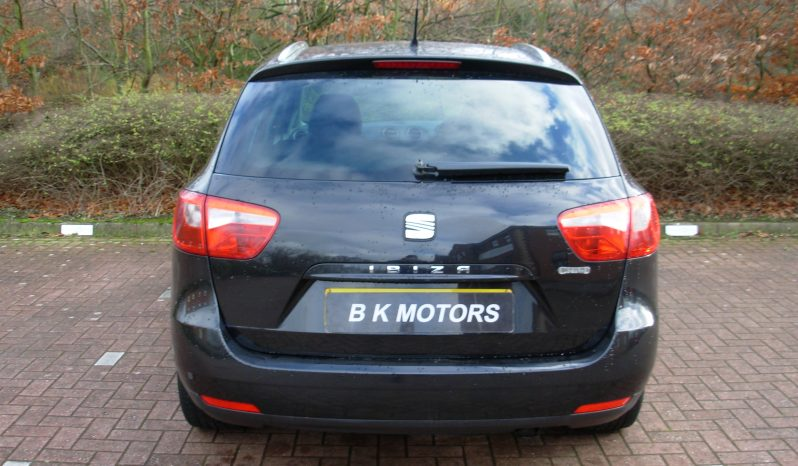 SEAT IBIZA SE CHILL SPORT RIDER 1.4 16V BLACK MANUAL full